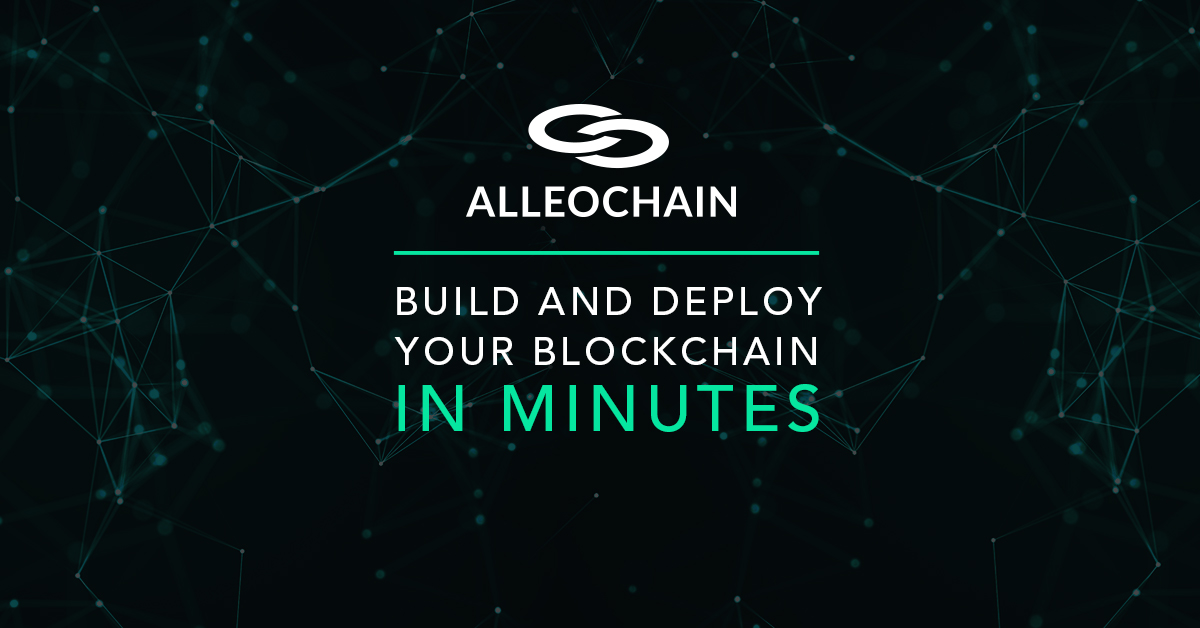 AlleoChain Announces MultiChain Product Partnership